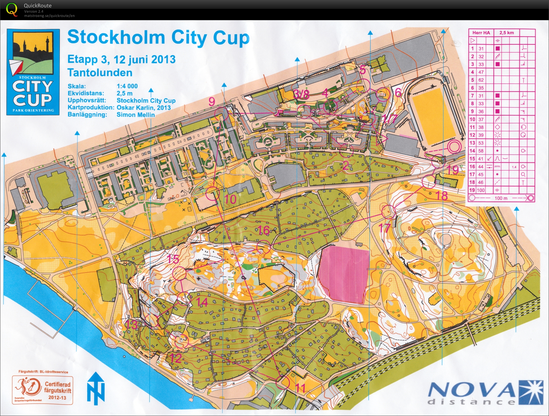 Stockholm City Cup, final (2013-06-12)